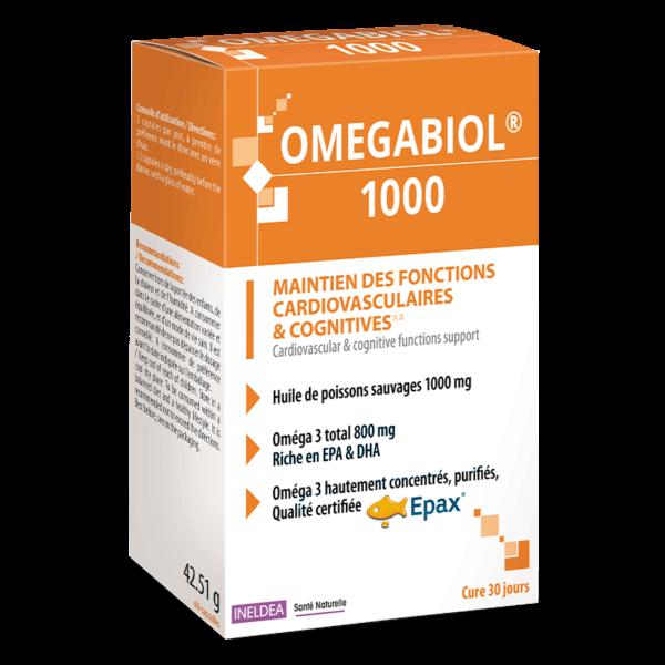 Омегабиол с 800 mg Омега 3